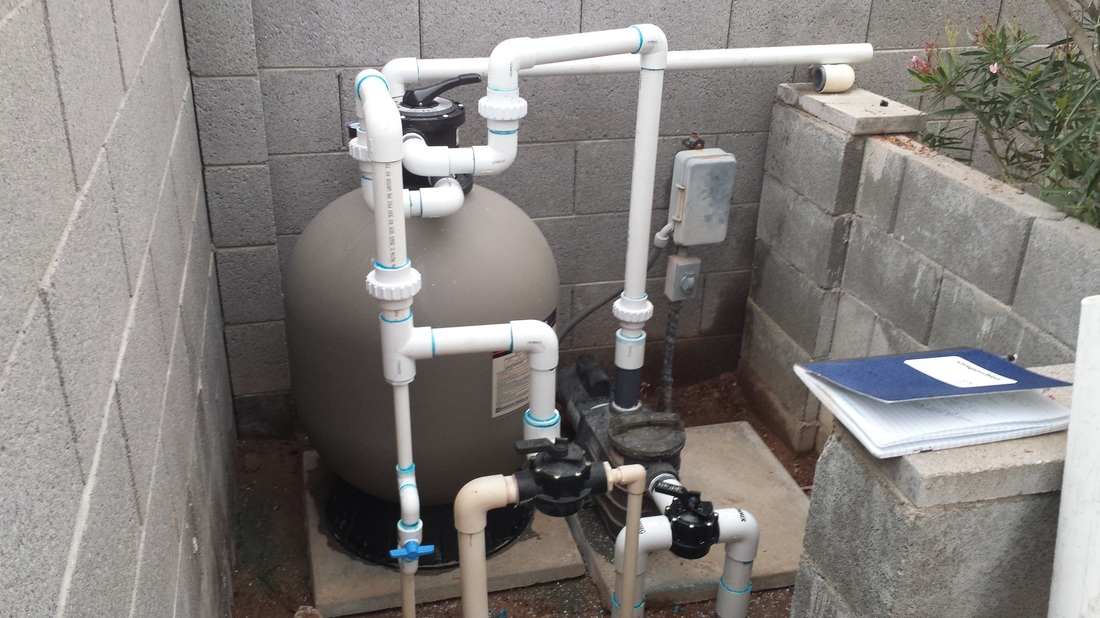 Top mount sand filter Hayward